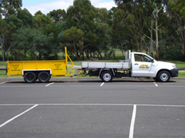 3 Cubic Metre Bin On Wheels